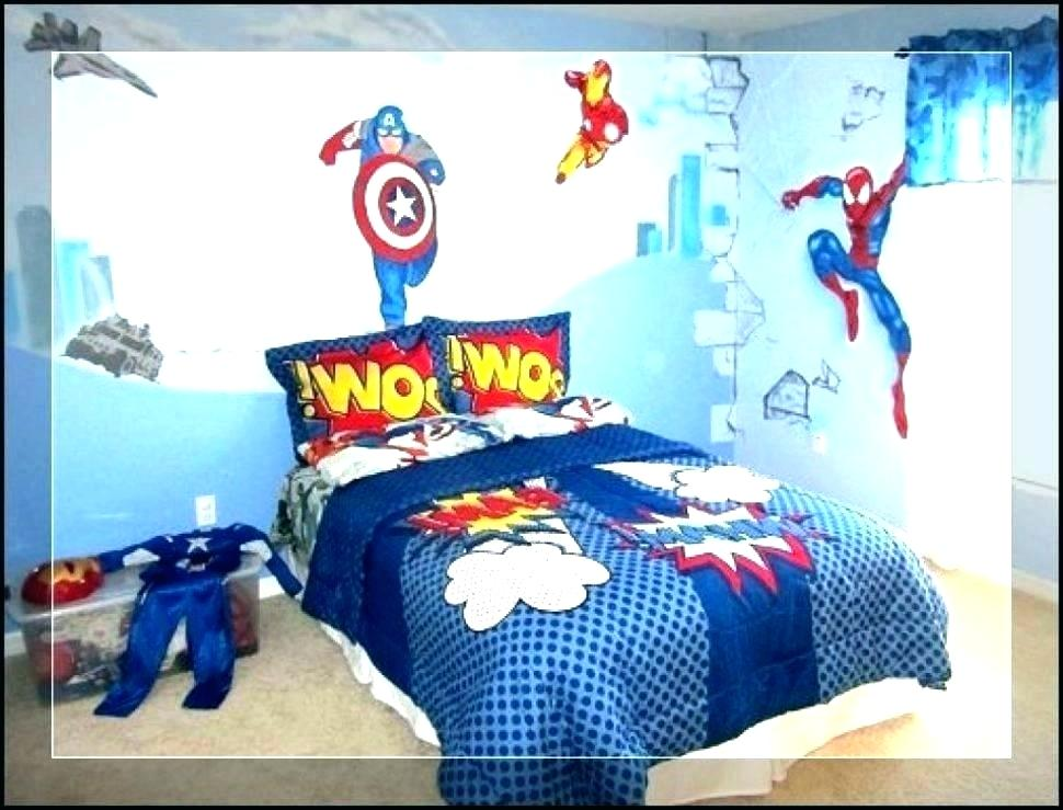 Batman Wallpaper For Bedroom Furniture Decoration Large - Avenges Bedroom Ideas For Boys - HD Wallpaper