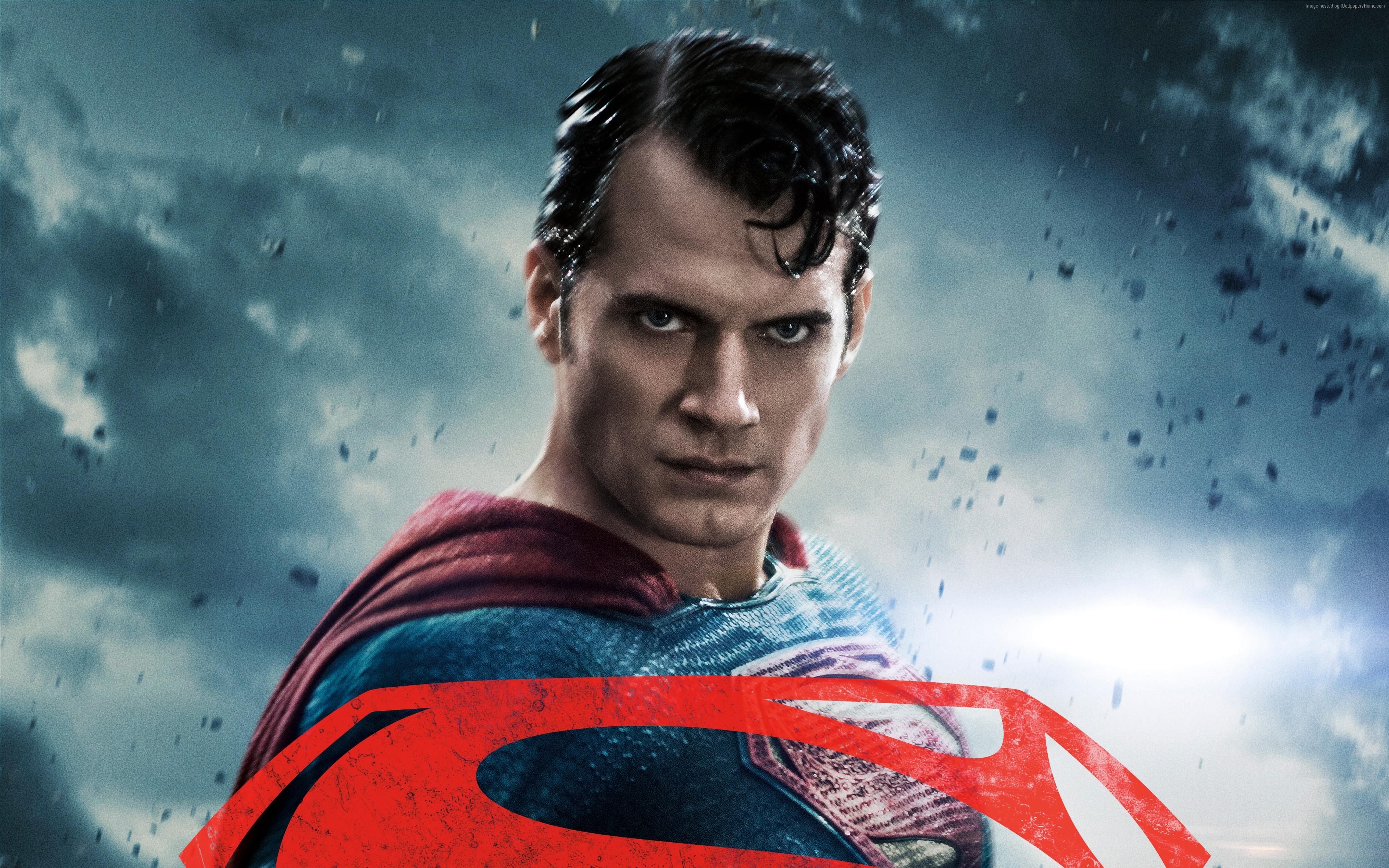 Batman V Superman 4k Poster - HD Wallpaper