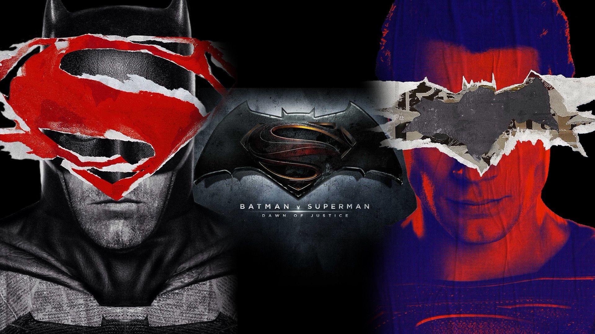Batman Vs Superman Wallpaper Hd Download Free - Batman Vs Superman Afiches - HD Wallpaper