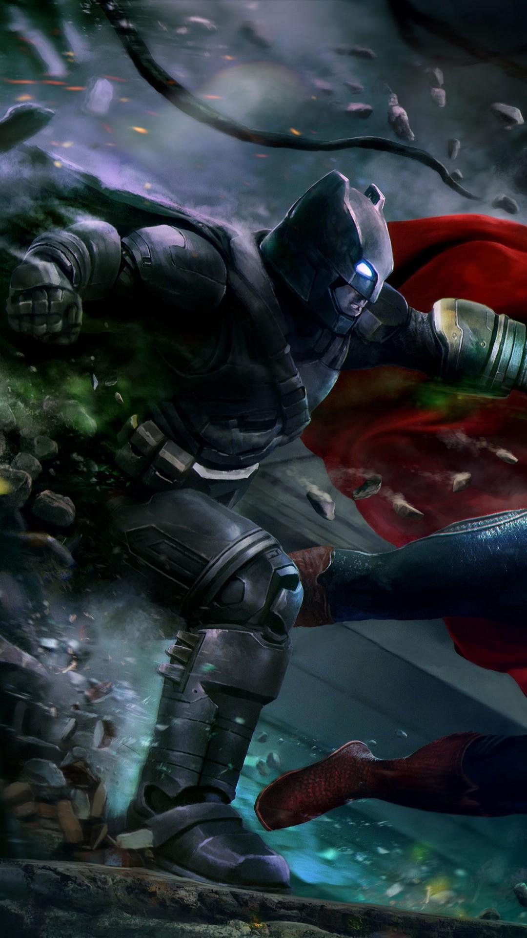 Batman Vs Superman Wallpaper 4k - HD Wallpaper