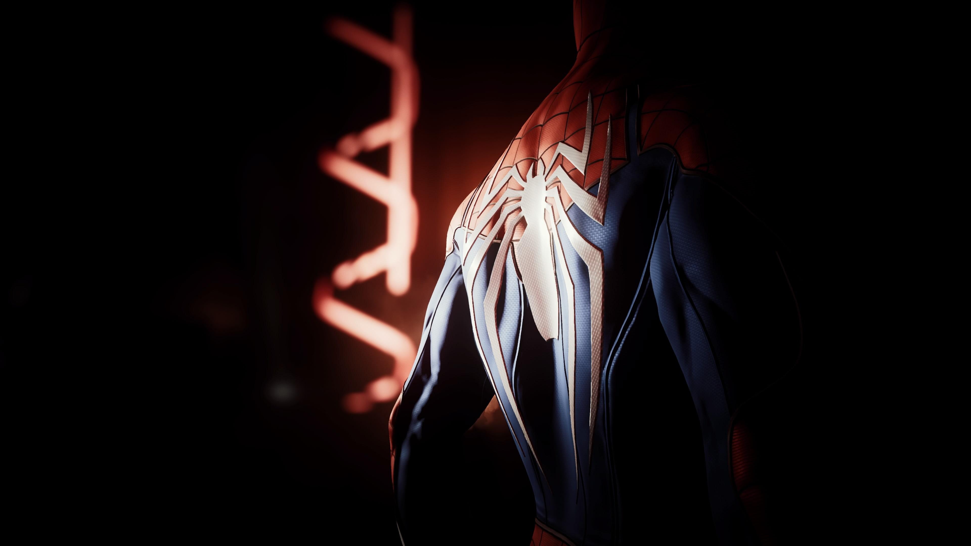 Spider Man Ps4 4k - HD Wallpaper