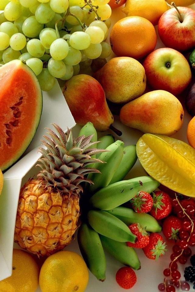 Tropical Fruit Iphone Background 640x960 Wallpaper Teahub Io