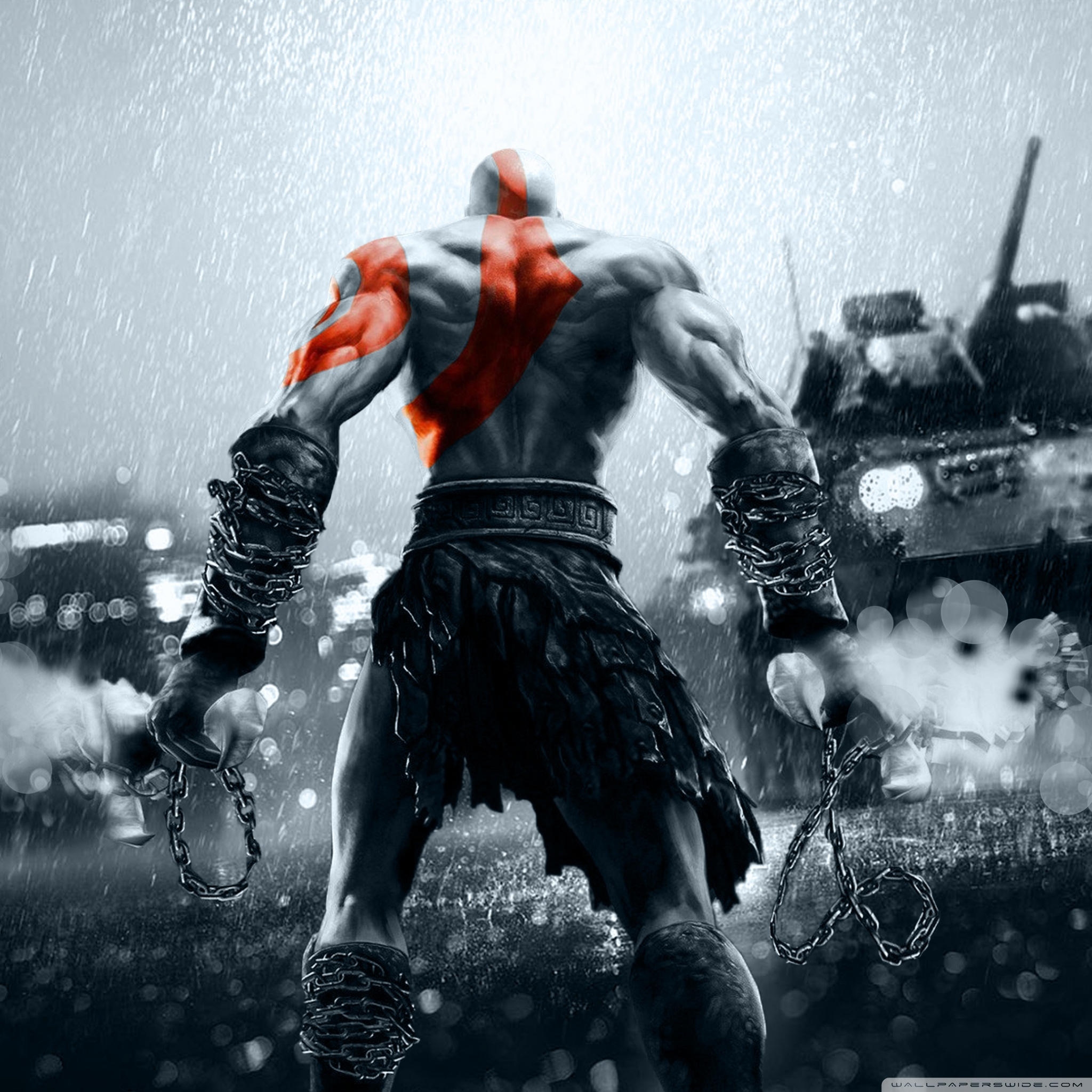 God Of War Hd Wallpapers For Mobile - HD Wallpaper