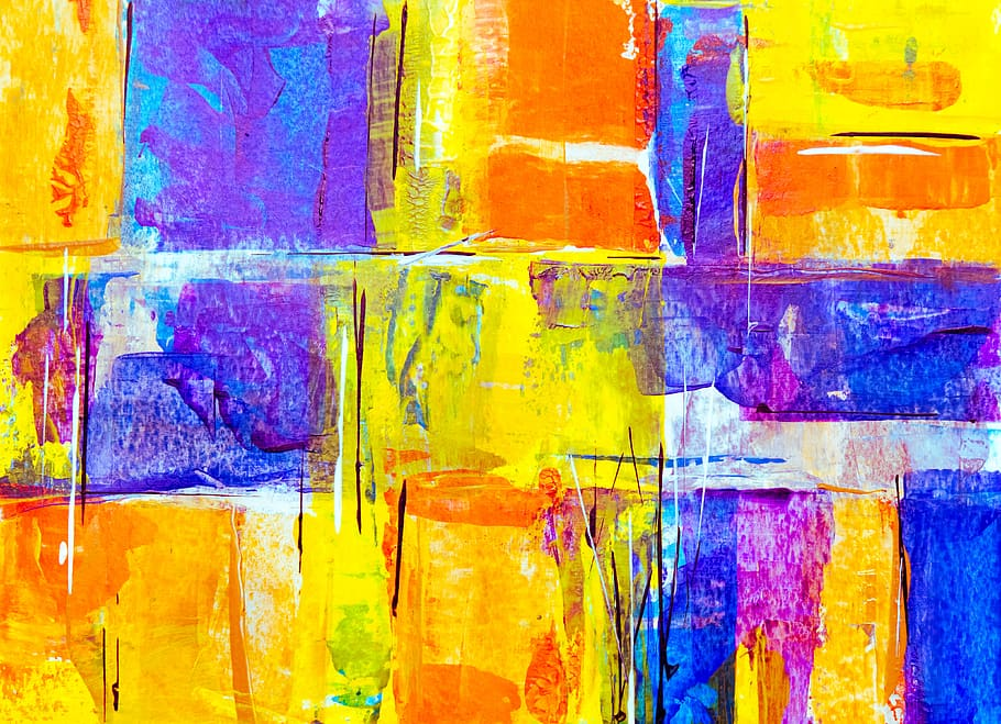 Bright, Abstract, Painting, Background, Hd Wallpaper, - Painting Background Hd - HD Wallpaper