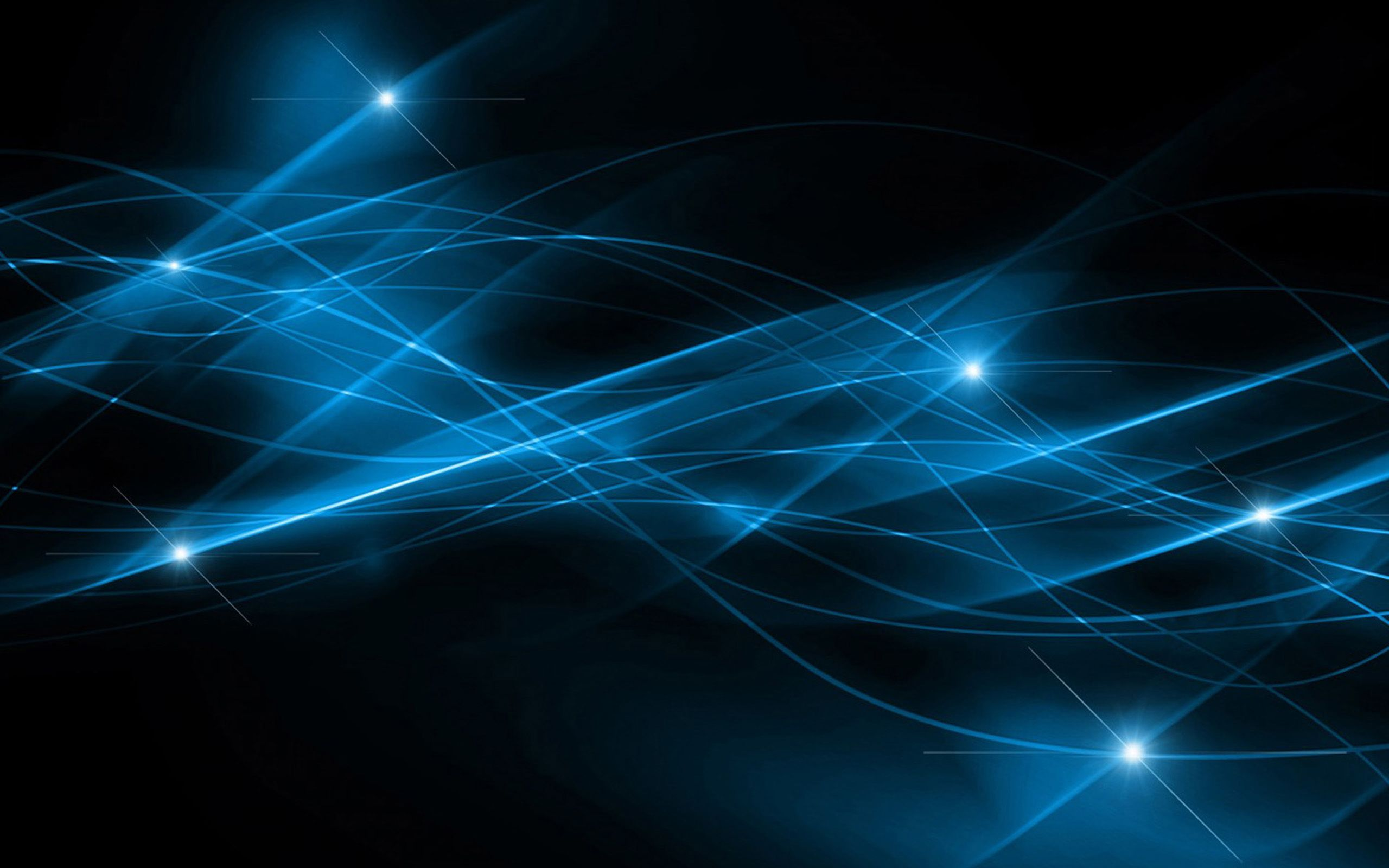 Pc Abstract Blue Wallpapers, Calista Bank - Background Wallpaper Blue Lines Abstract - HD Wallpaper