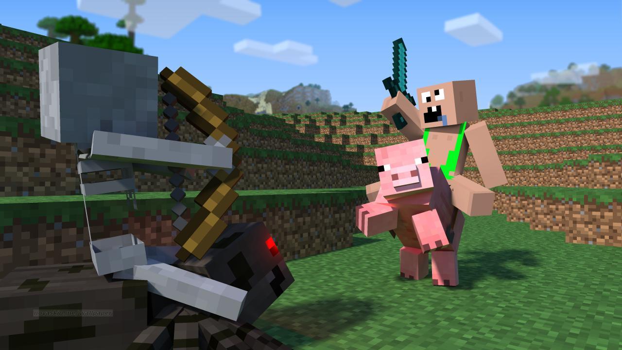 Download Minecraft Wallpapers Free Gallery - Herobrine Minecraft