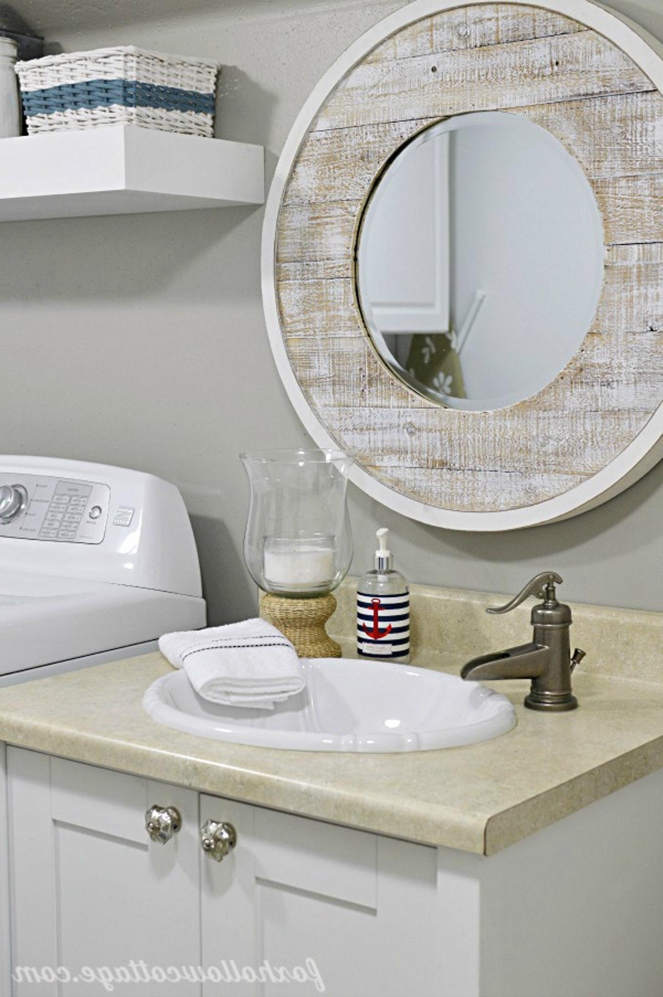 Bathroom Mirrors Beach Theme 1360x2047 Wallpaper Teahub Io