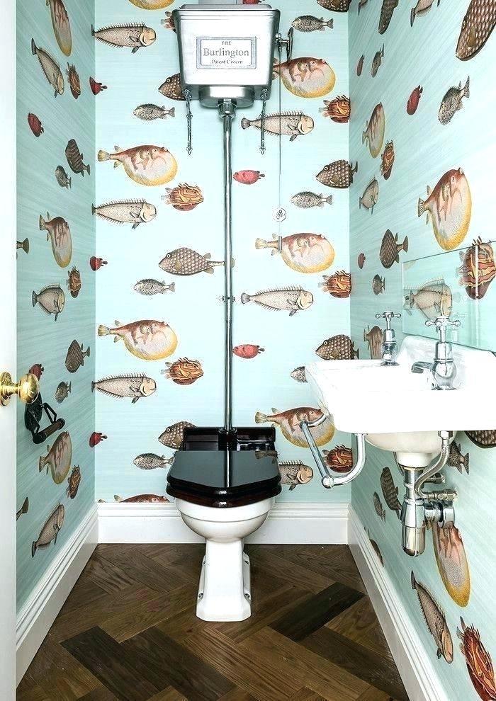 Fish Bathroom Wallpaper Breathtaking, Fish Wallpaper For Bathroom