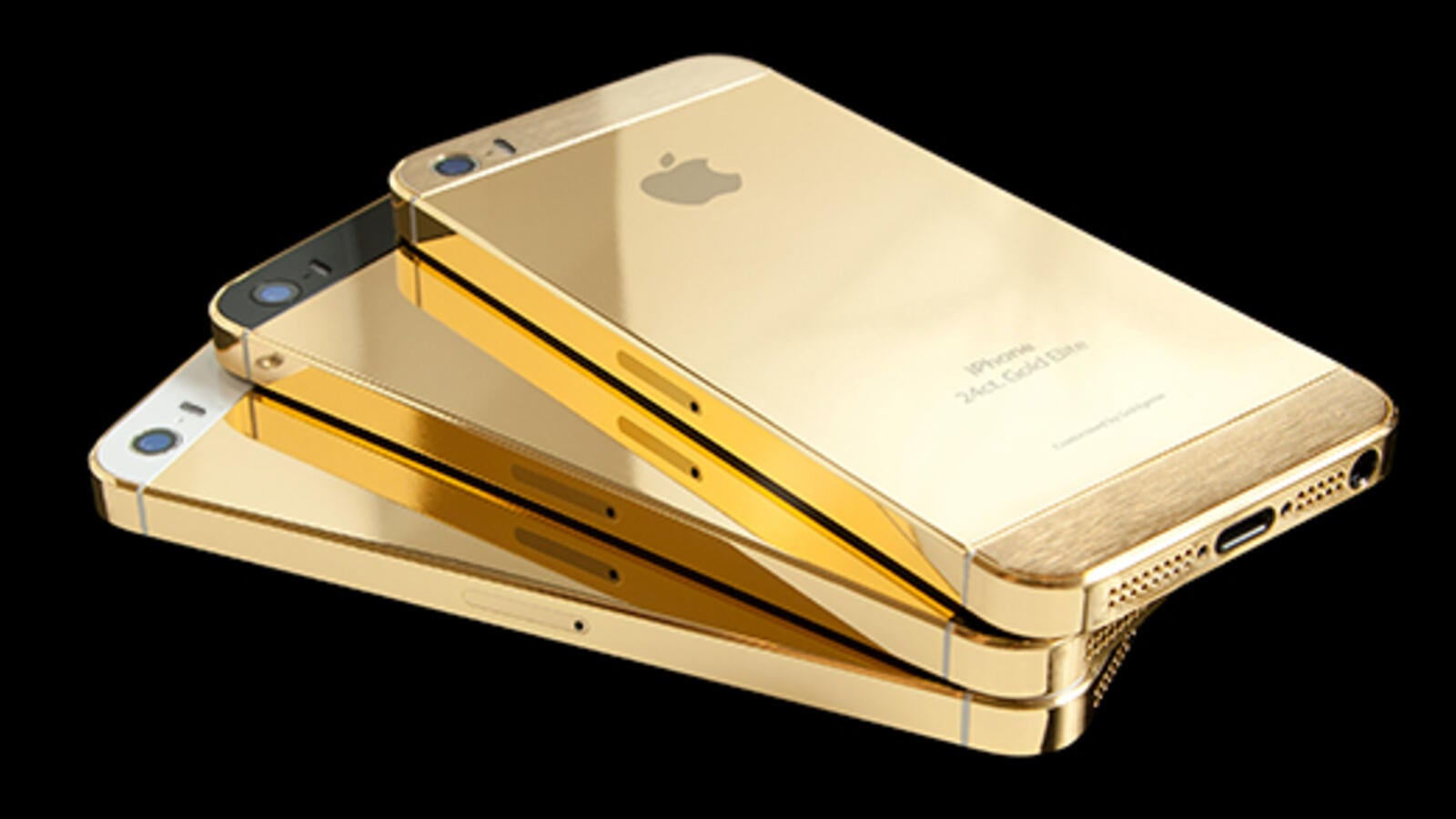 With The Gold - Gold Phones - HD Wallpaper