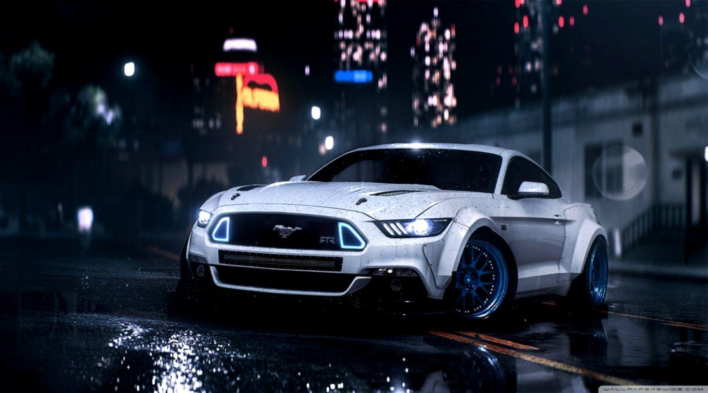 Ford Mustang ❤ 4k Hd Desktop Wallpaper For 4k Ultra - Mustang Gt Wallpaper  Hd - 1456x810 Wallpaper - teahub.io