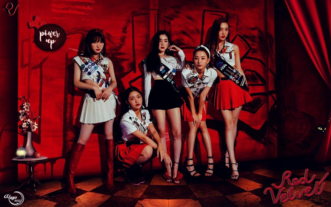 Red Velvet Power Up Power Up Red Velvet 1280x800 Wallpaper Teahub Io