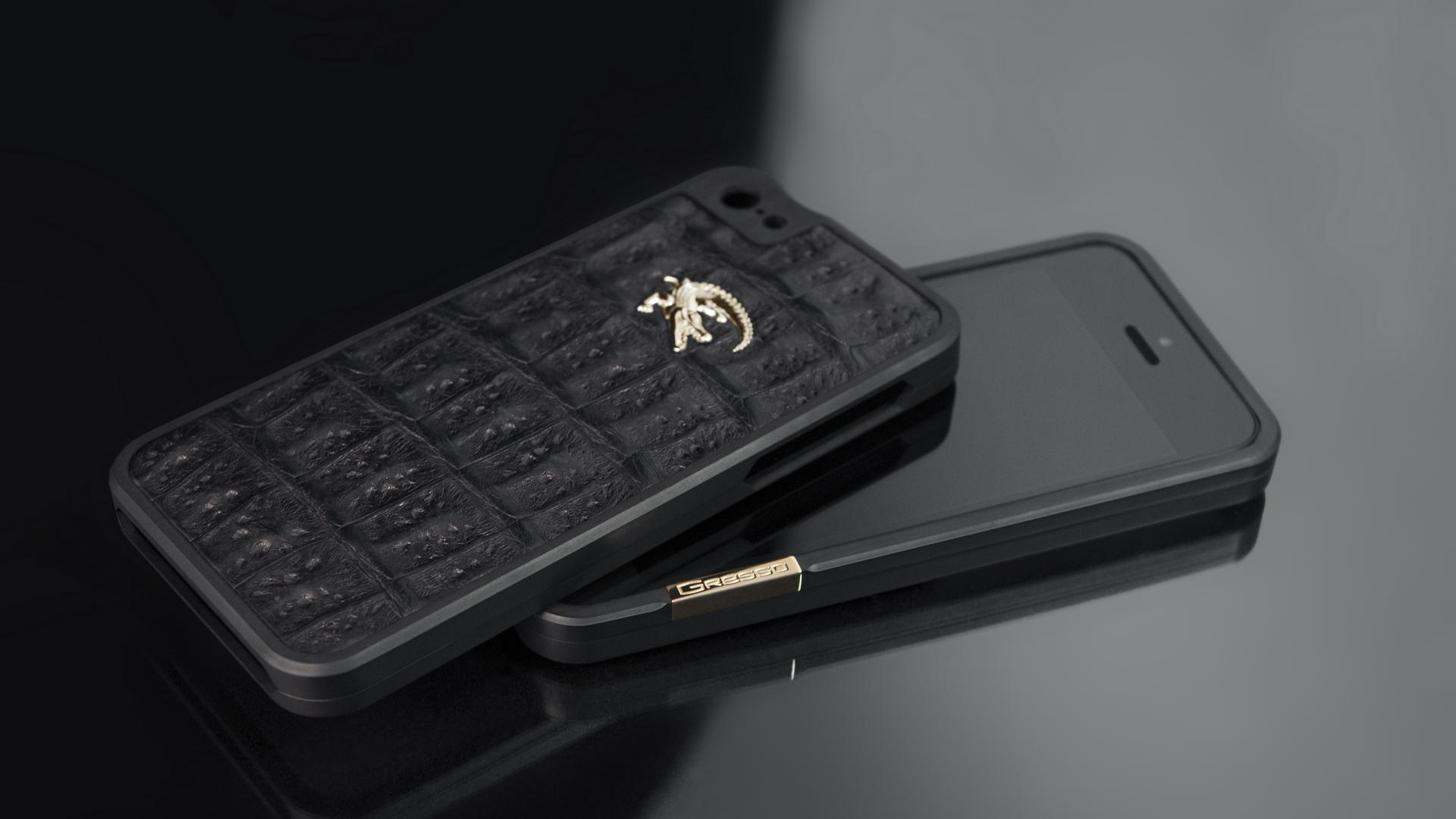 Wallpaper Gresso, Titanium Bumper, Iphone - Iphone 7 Expensive Cases - HD Wallpaper