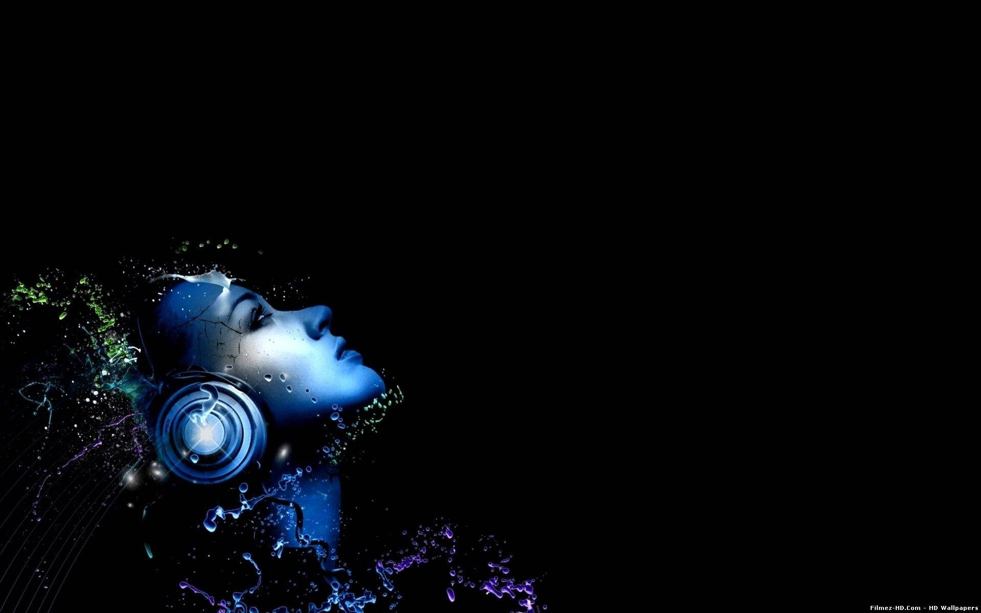 Music Hd Music Wallpapers, Widescreen Pictures From - Blue Music Wallpaper Hd - HD Wallpaper