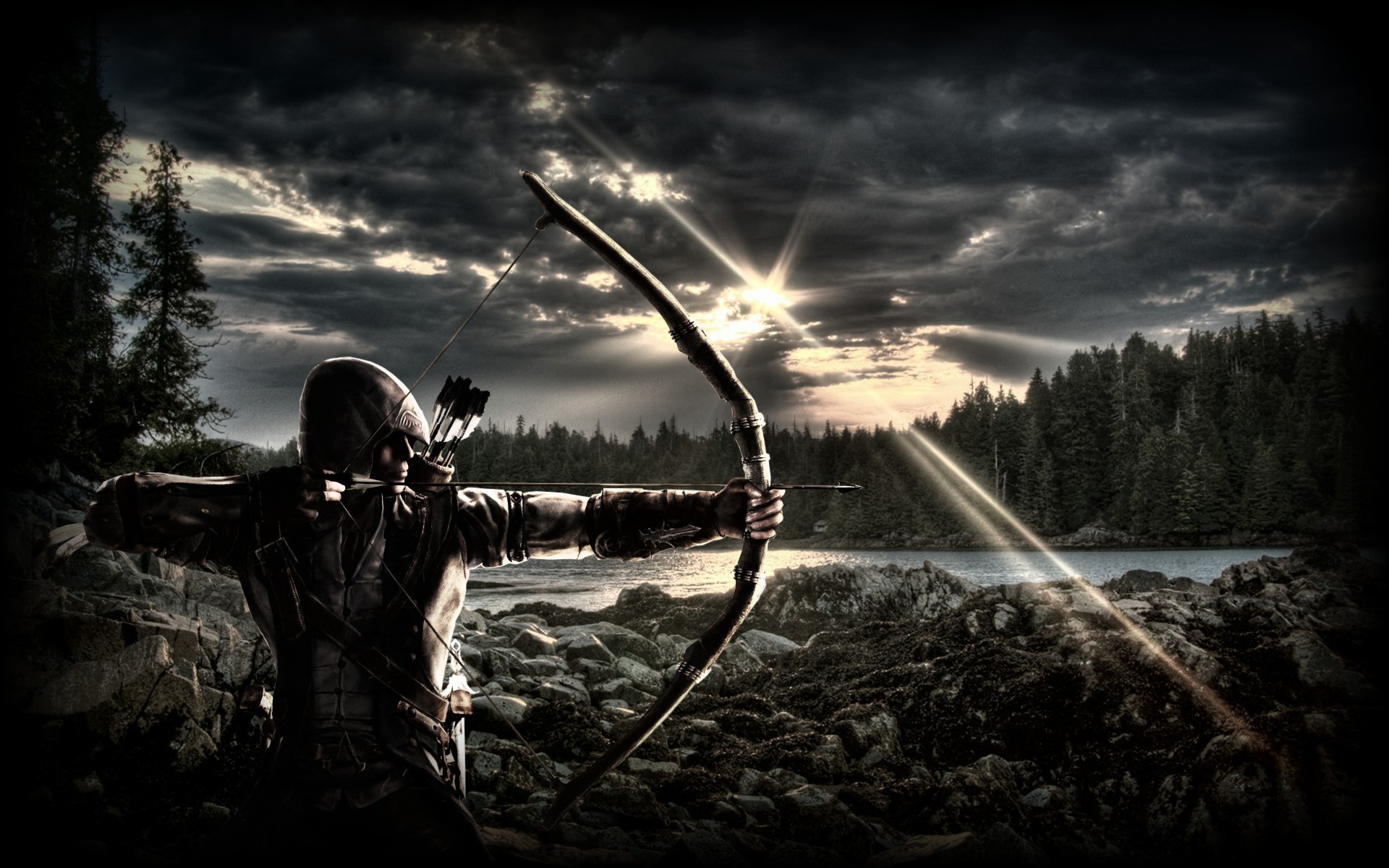 Archery Free Hd Wallpapers For Desktop   Data-src - Two Most Important Days In Your Life Are The Day You - HD Wallpaper