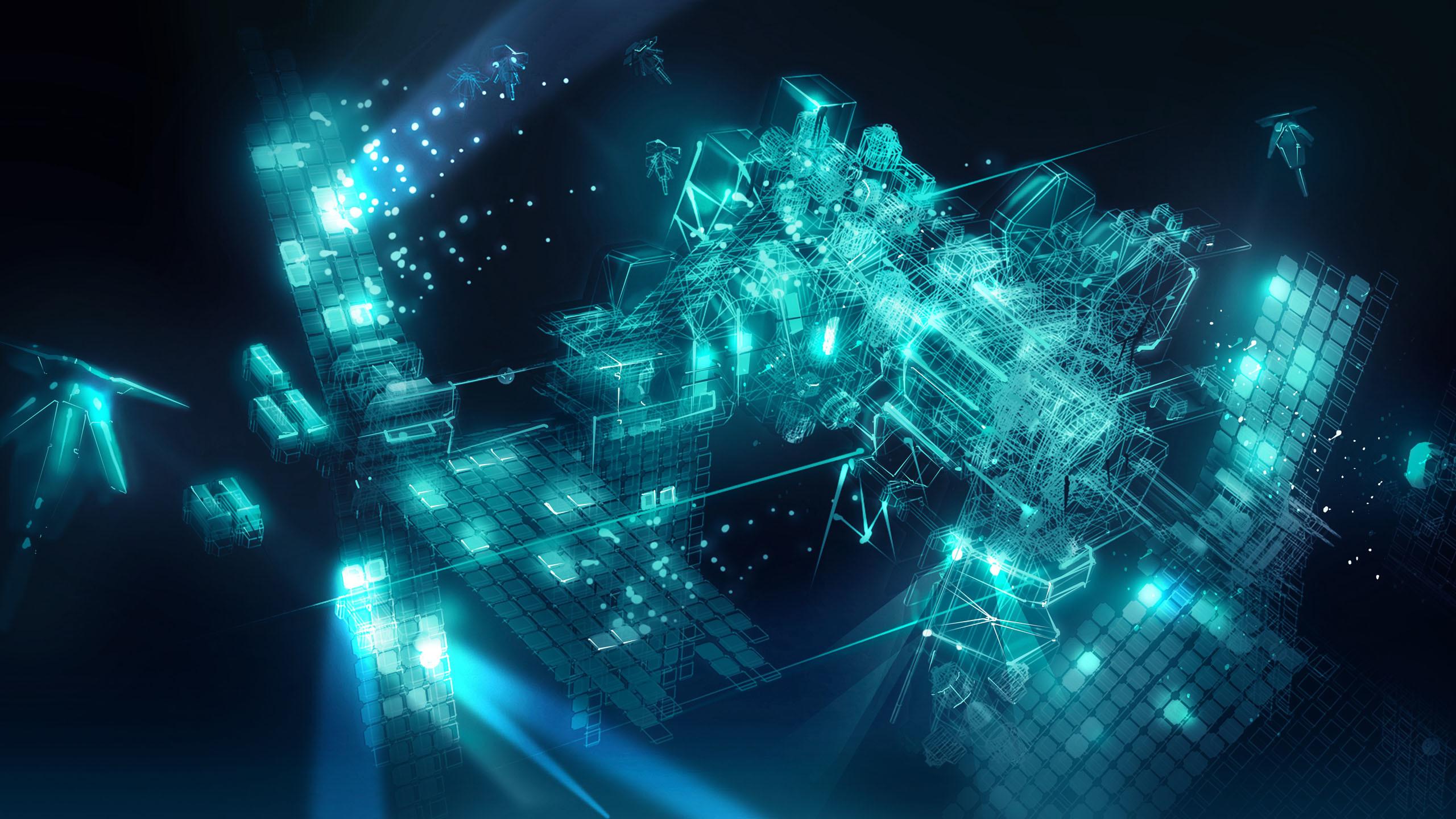 2560x1440 Engine 3d Live Wallpaper Artificial Intelligence Wallpaper 4k 2560x1440 Wallpaper Teahub Io