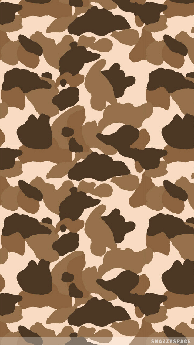 Camo Iphone Wallpaper-49d8z5j - Brown Camo Background - HD Wallpaper