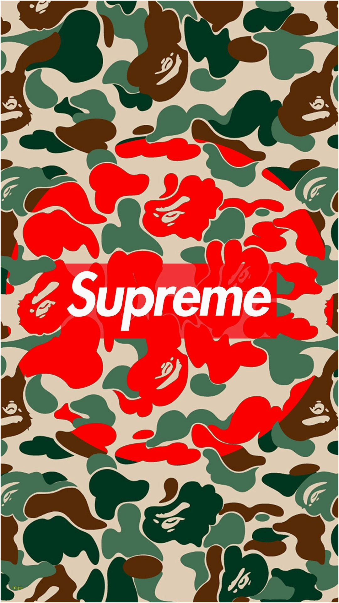Supreme Wallpapers For Iphone - HD Wallpaper