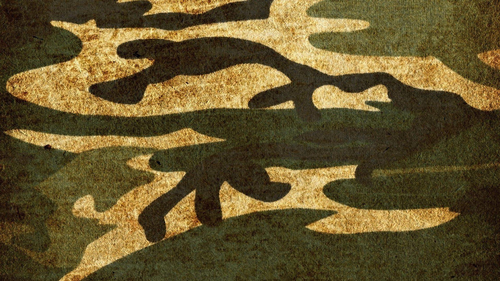 Desktop Camouflage - HD Wallpaper