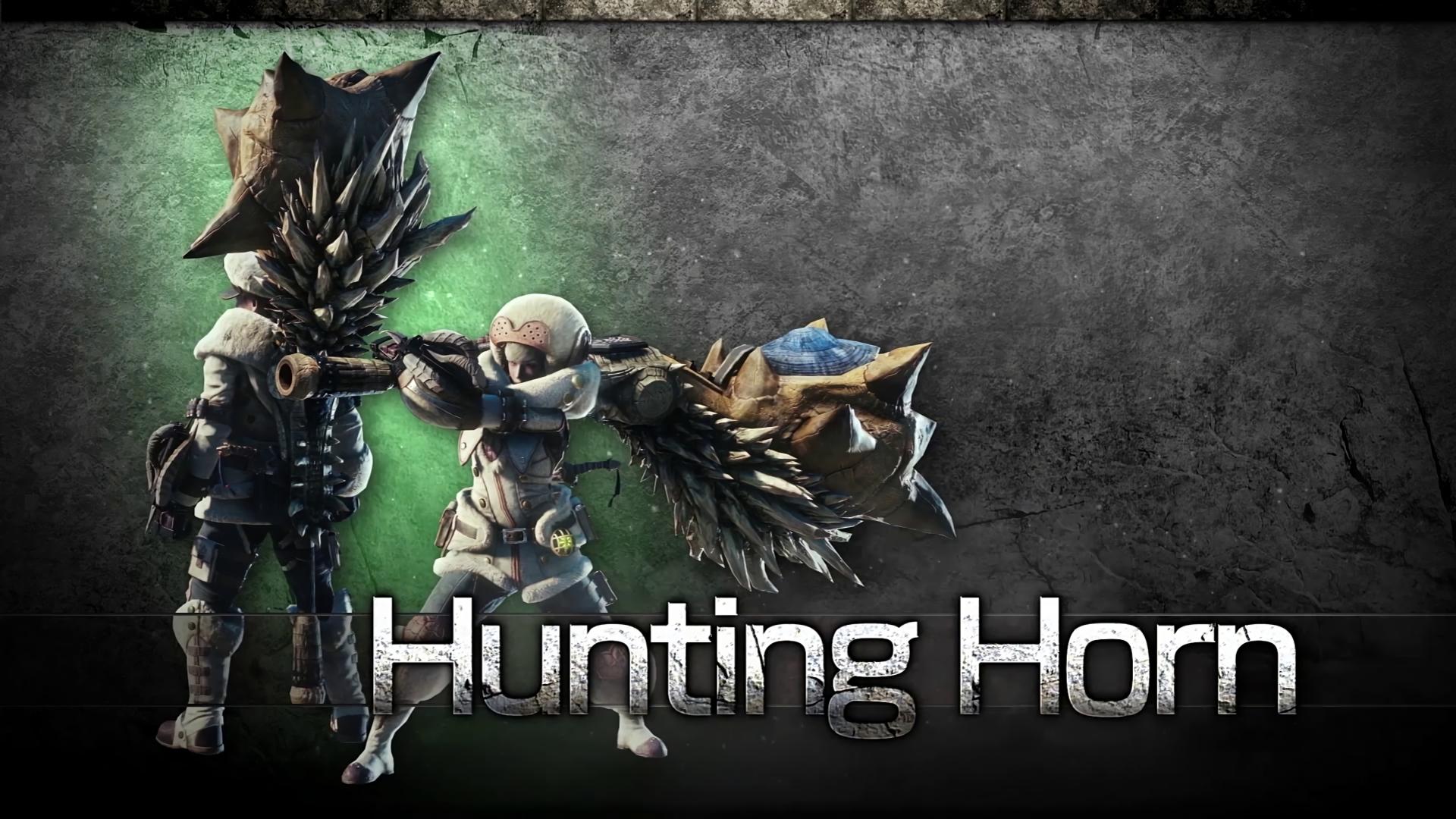 Monster Hunter World Hunting Horn 1920x1080 Wallpaper Teahub Io