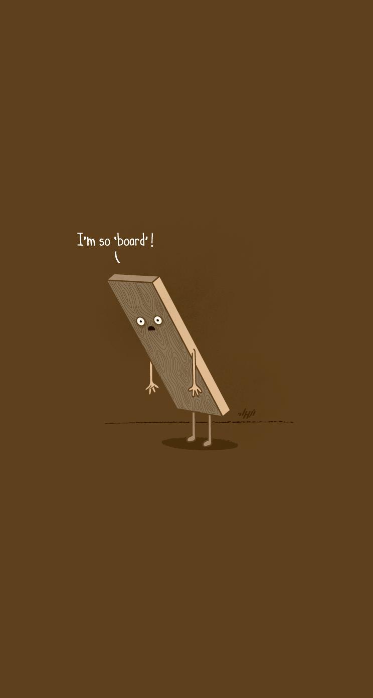 Bored Iphone Wallpapers Mobile9 Cute Cartoon Funny Creative Wallpaper Ideas For Phone 744x1392 Wallpaper Teahub Io