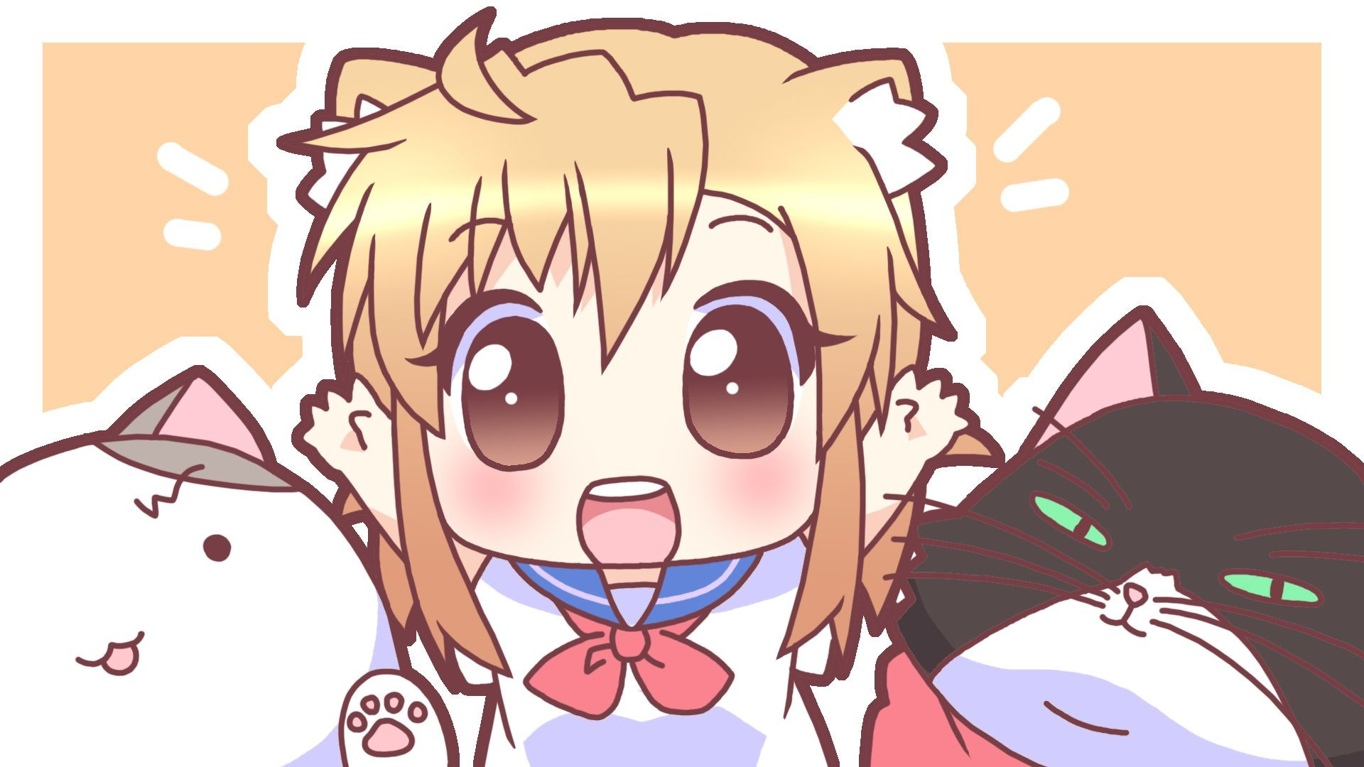 Anime Chibi Wallpapers Group   Data Src Kawaii Girl - Cute Anime Wallpaper Chibi - HD Wallpaper