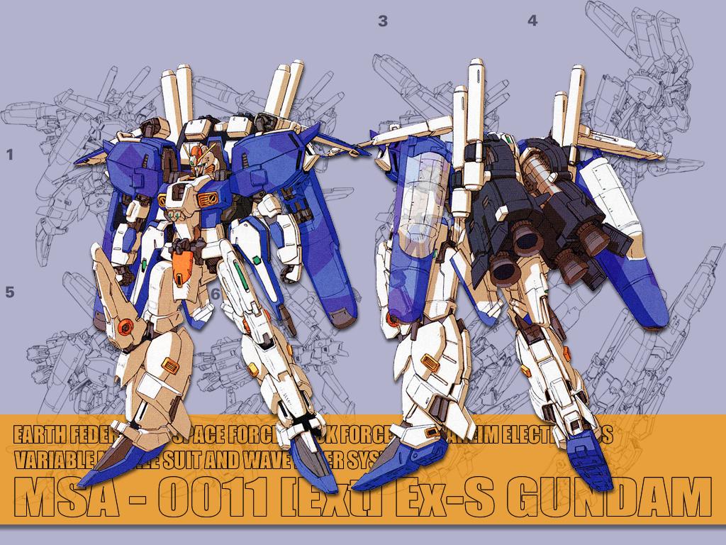 Ex S Gundam Katoki 1024x768 Wallpaper Teahub Io
