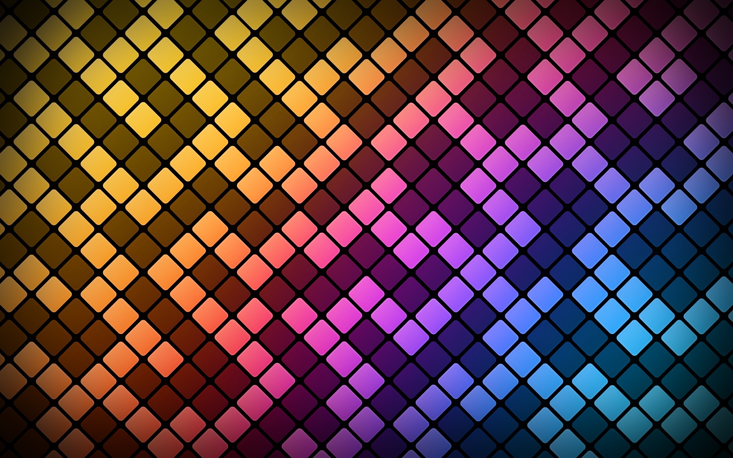Colorful, Pattern, Abstract, Square, Digital Art, Lines - Textures In Square Patterns - HD Wallpaper