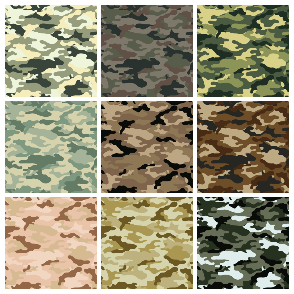 Army Camouflage Background Clipart - Ww2 Desert Camouflage Patterns - HD Wallpaper