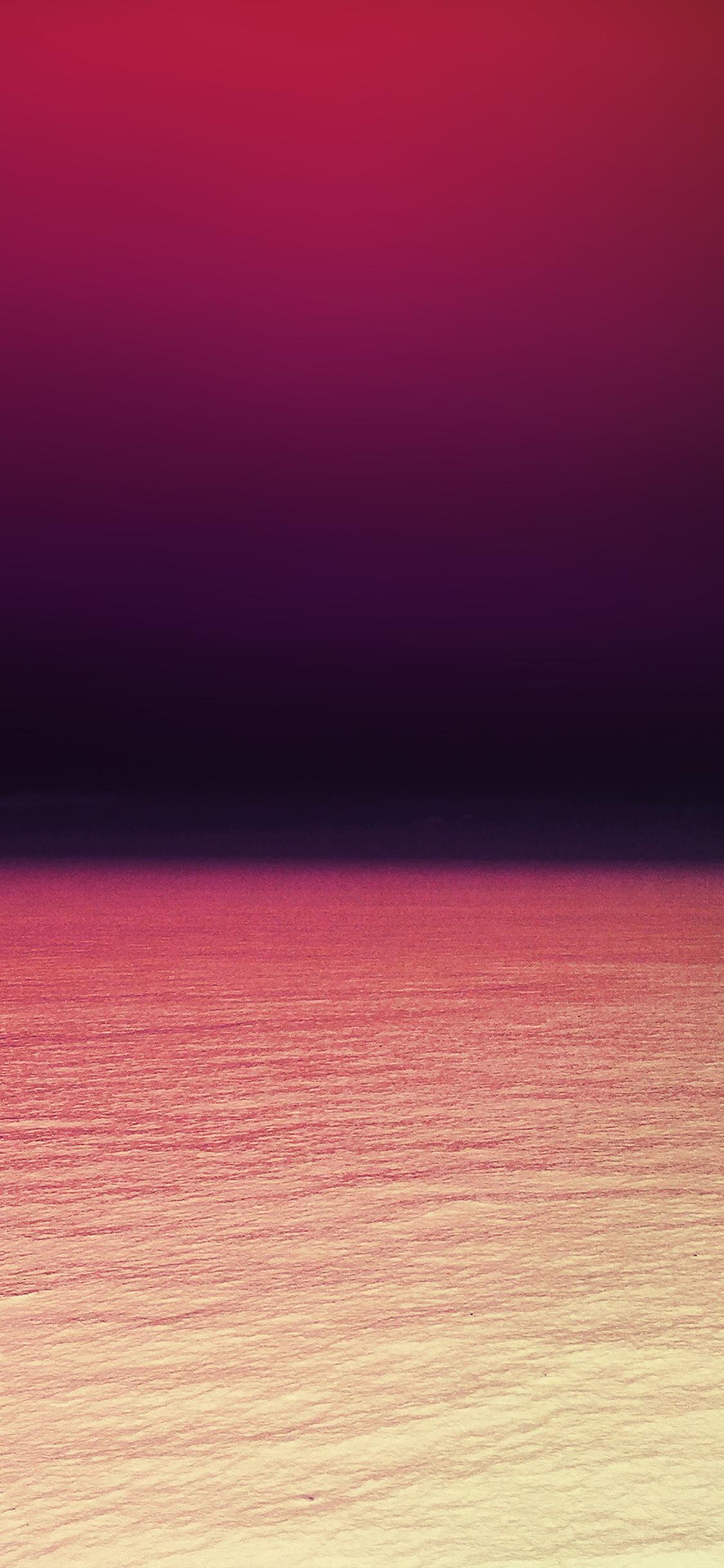 Iphone 11 Wallpaper Red Ocean - HD Wallpaper