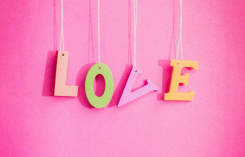 Photo Wallpaper Love, Background, Pink, Love, Pink, - Love Pink - HD Wallpaper