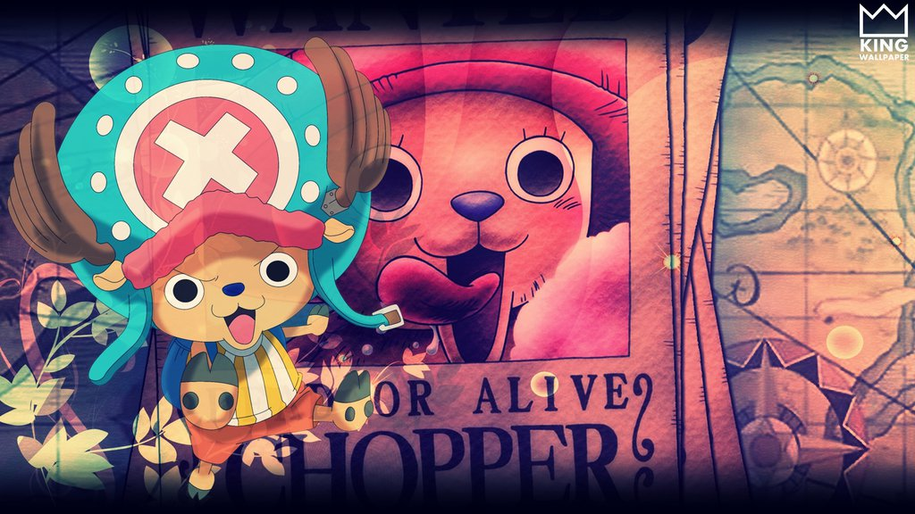 One Piece Chopper Wallpaper Hd 1024x576 Wallpaper Teahub Io