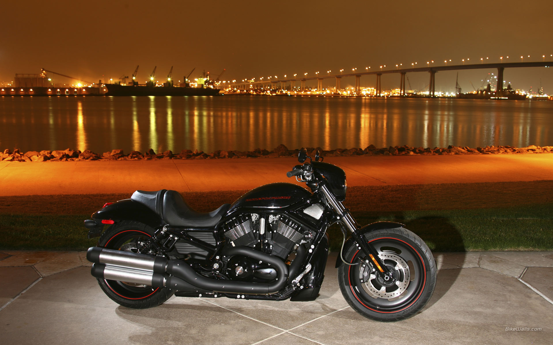 Harley Davidson Night Rod Wallpaper High Quality For Harley Davidson V Rod 1920x1200 Wallpaper Teahub Io