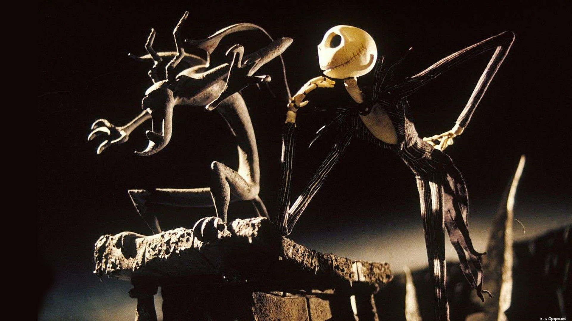 Nightmare Before Christmas Background Hd Wallpaper - Nightmare Before Christmas - HD Wallpaper