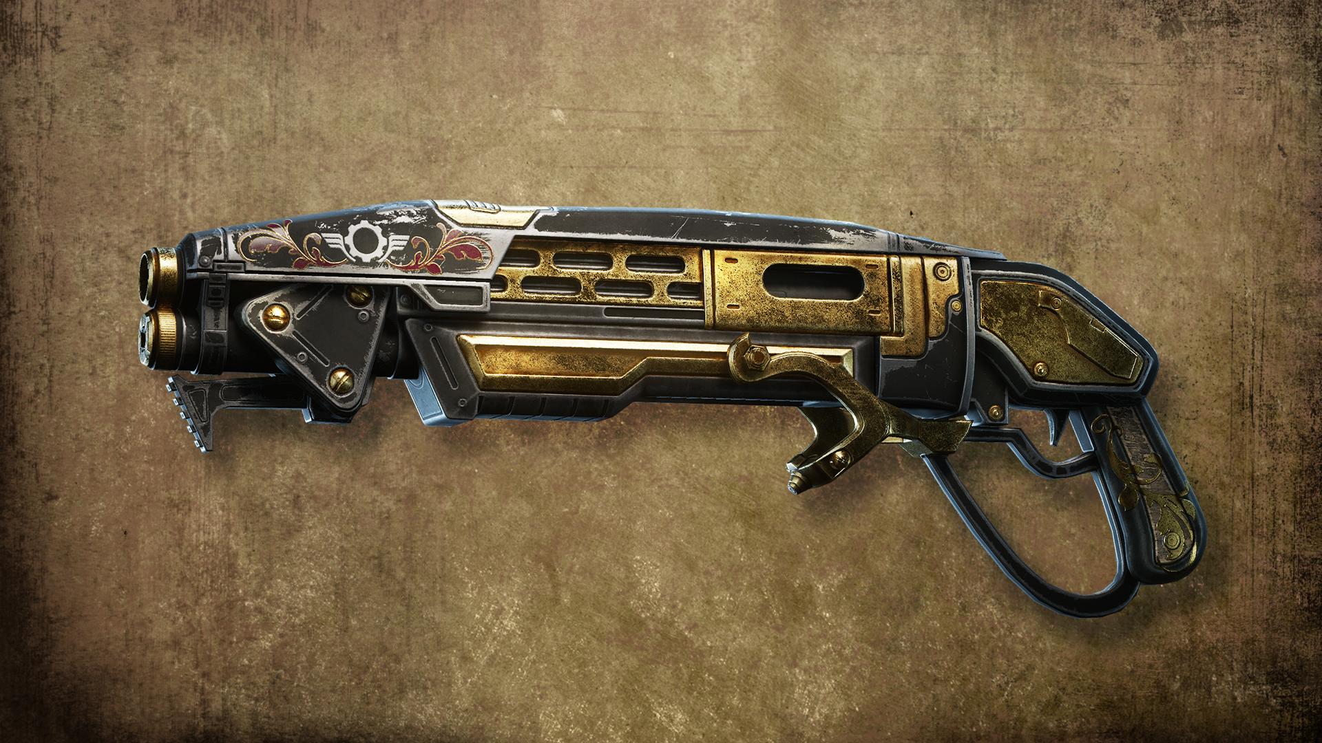 Gears Of War 4 Gold Gnasher - HD Wallpaper