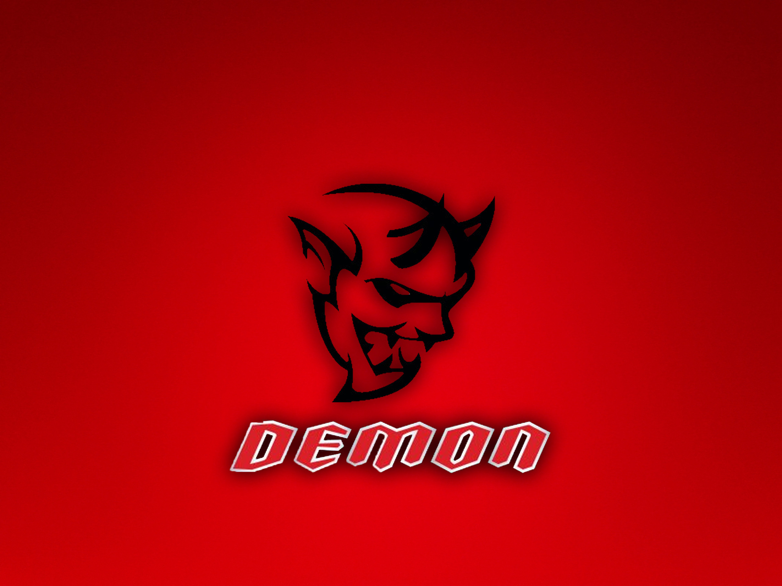 Dodge Challenger Demon Logo Wallpaper By Thetinychicken Dodge Challenger 2560x1920 Wallpaper Teahub Io