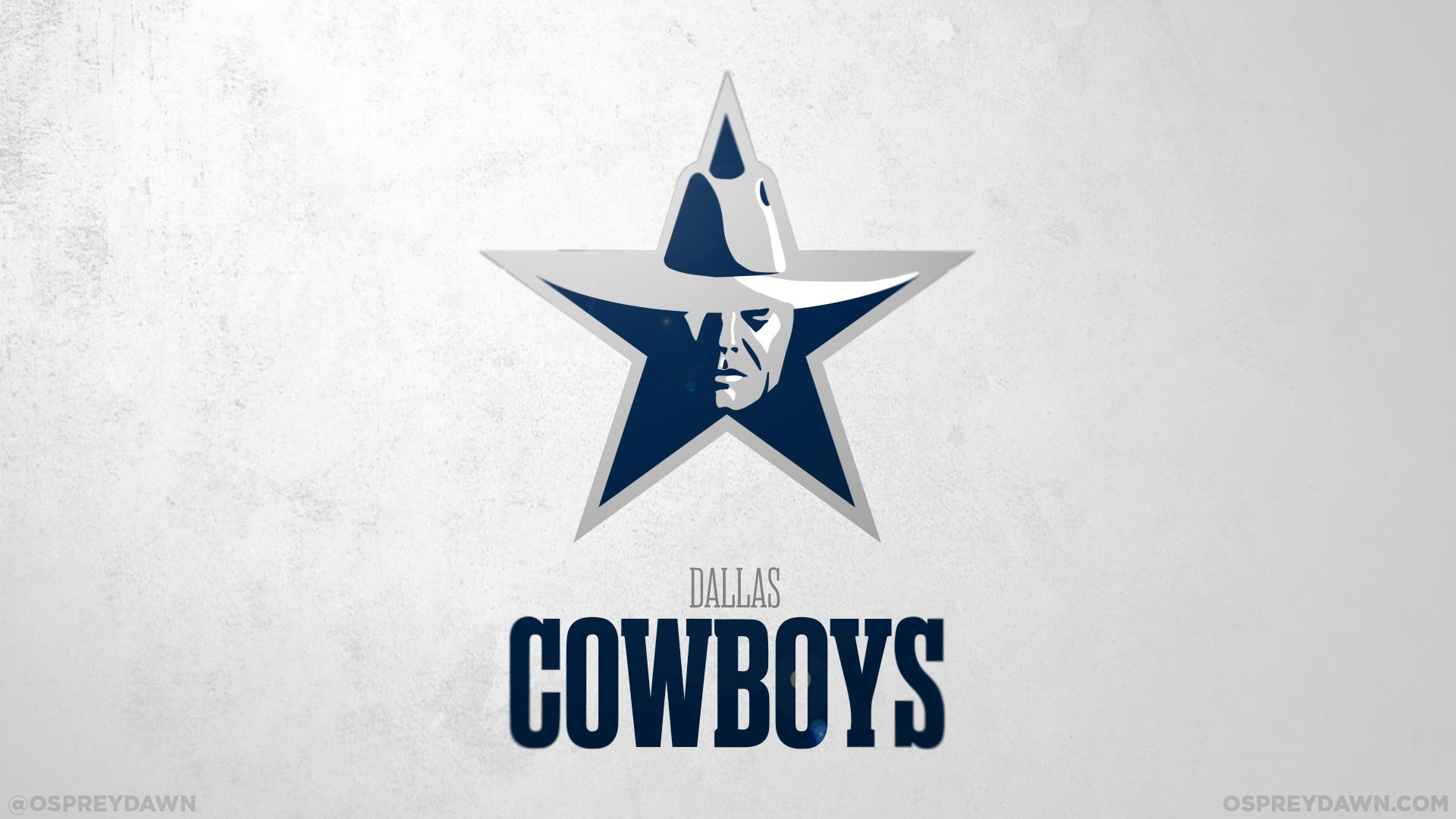 Dallas Cowboys Logo Concept - HD Wallpaper