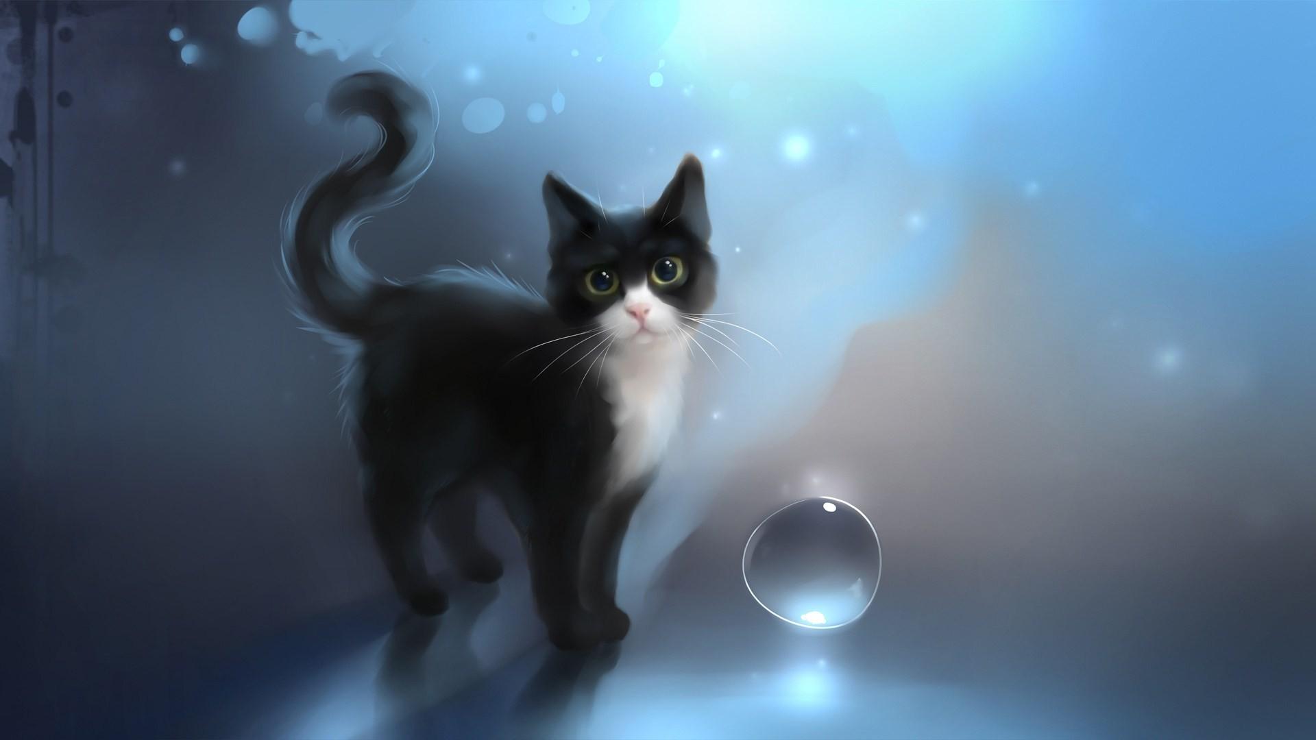 Wiki Download Free Anime Cat Wallpaper Pic   Data Src - Anime Cat Background - HD Wallpaper