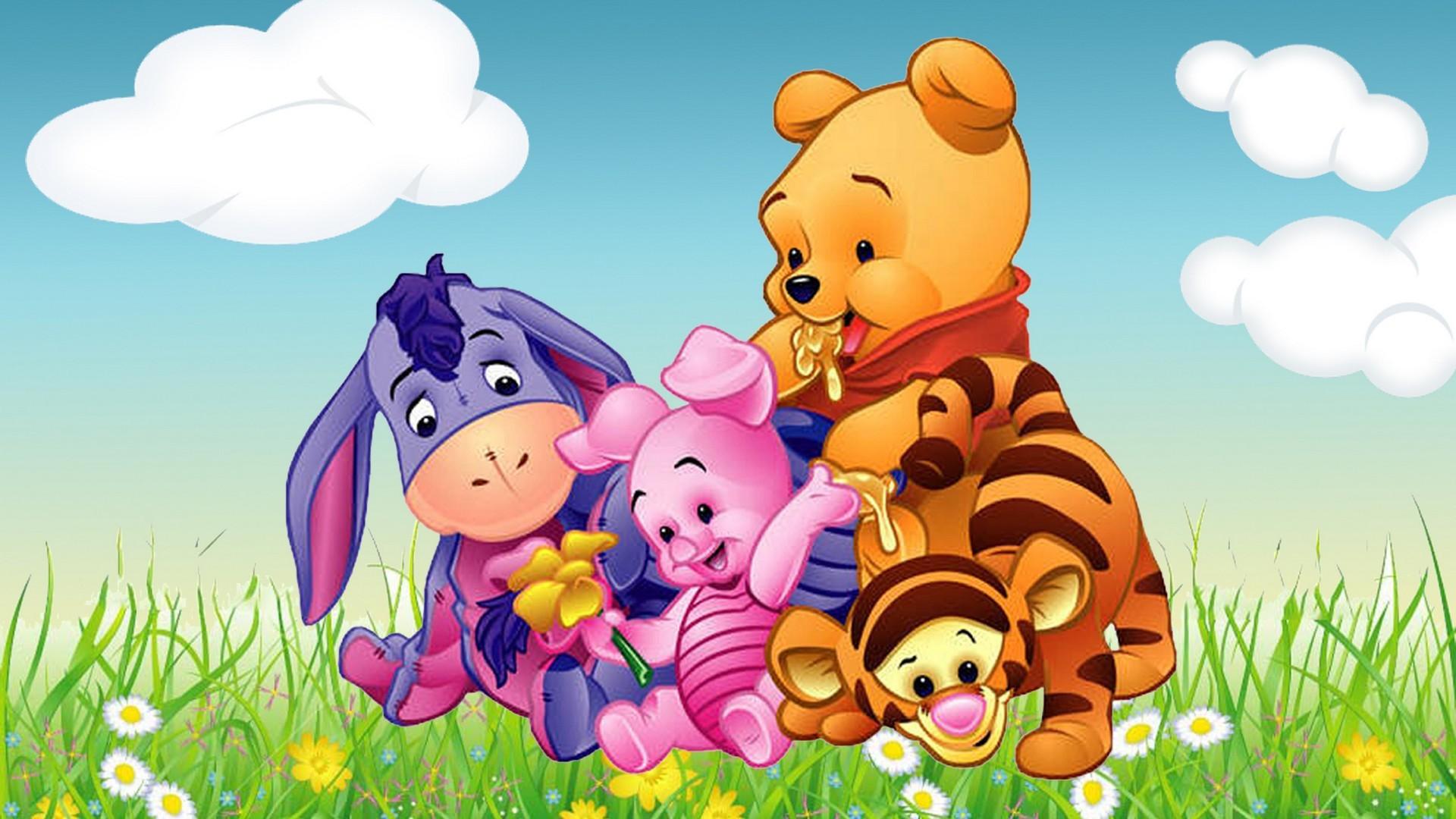 1920x1080, Cartoon Winnie The Pooh Tigger Piglet And - 4k Winnie The Pooh - HD Wallpaper