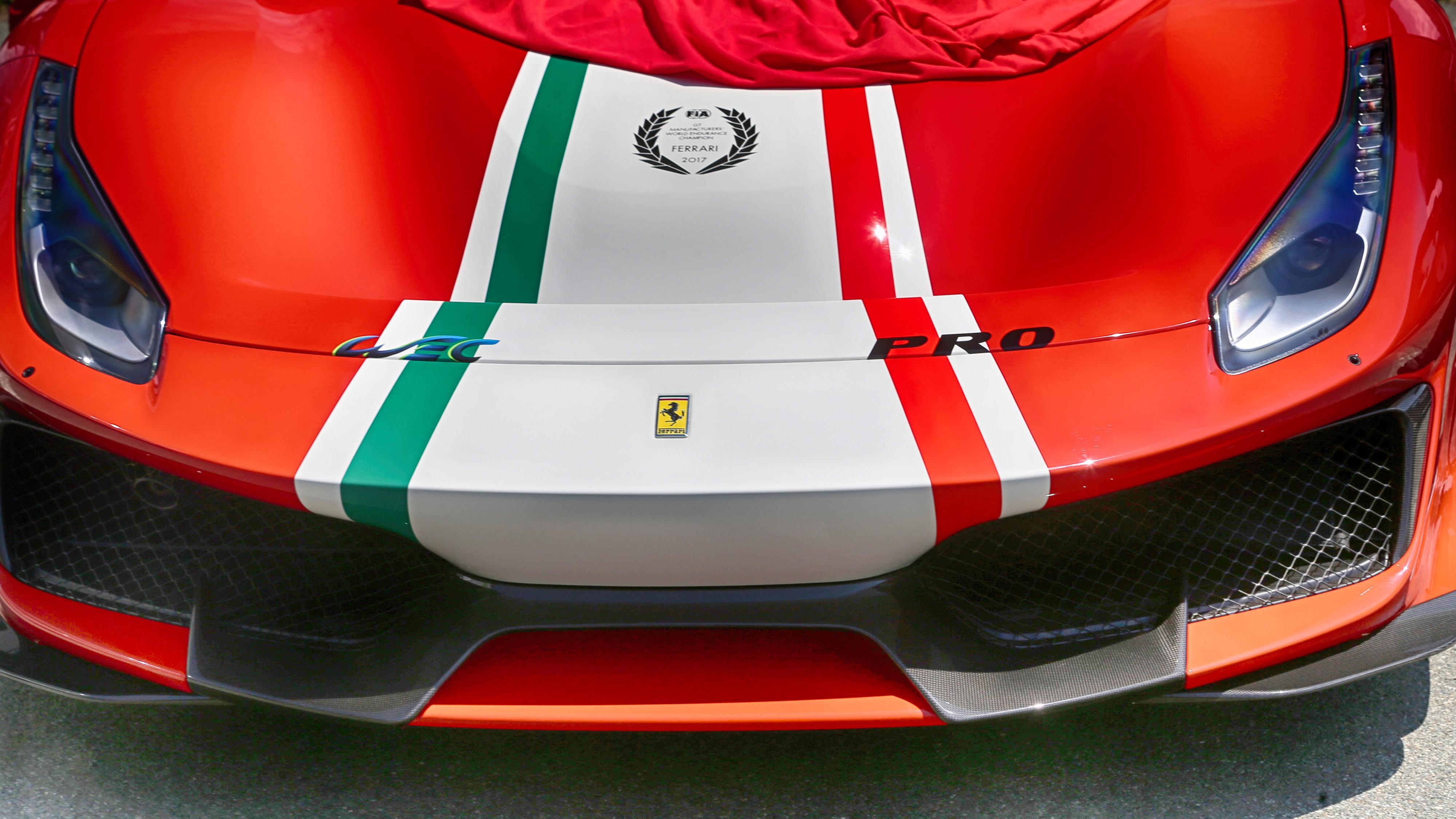 Ferrari 488 Pista Piloti 4000x2250 Wallpaper Teahub Io