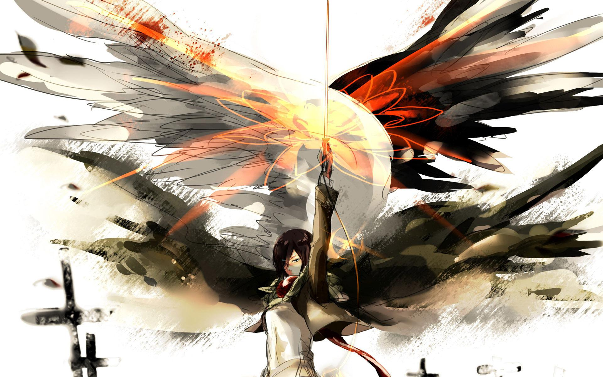 Anime Attack On Titan Wallpaper For Pc 1920x1200 Wallpaper Teahub Io