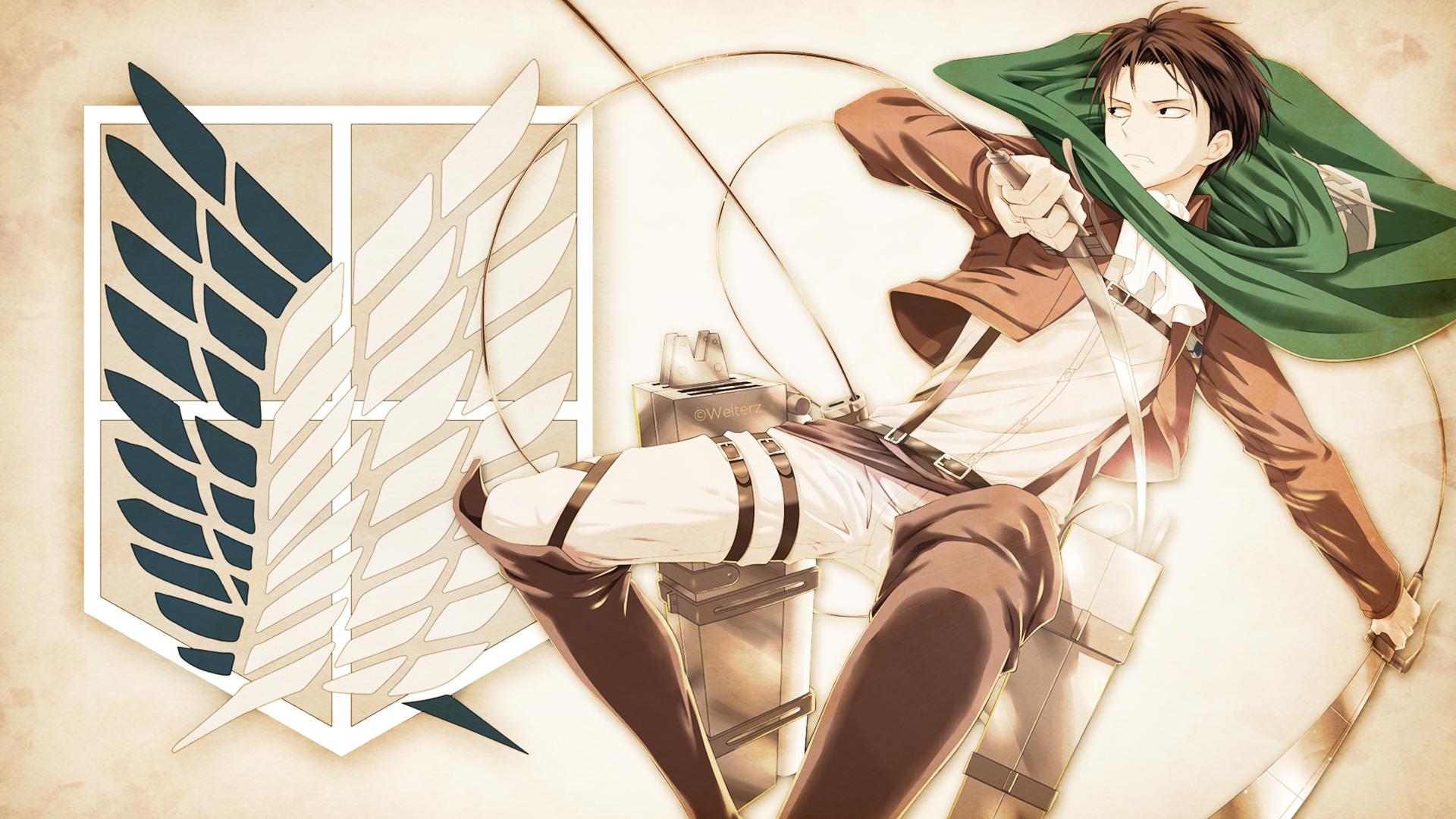 Anime Wallpaper Attack On Titan Levi - HD Wallpaper