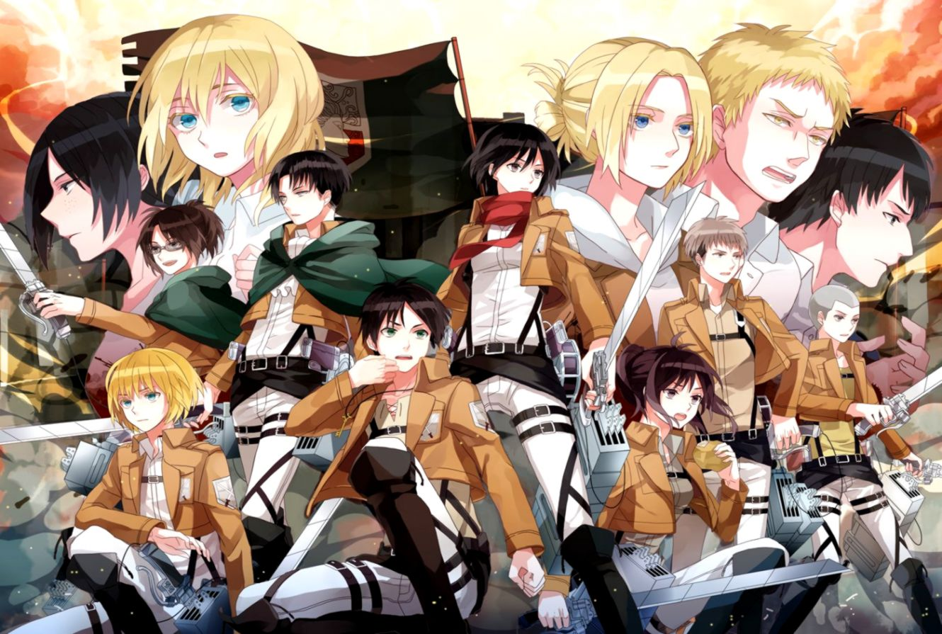 407 Levi Ackerman Hd Wallpapers Background Images Wallpaper - Attack On Titan Family - HD Wallpaper