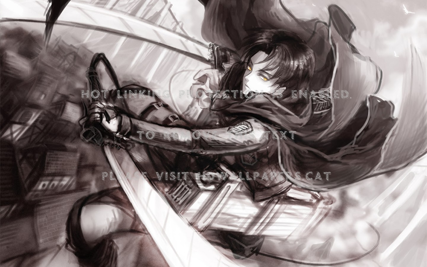 Humanity S Greatest Soldier - Background Attack On Titan Levi - HD Wallpaper