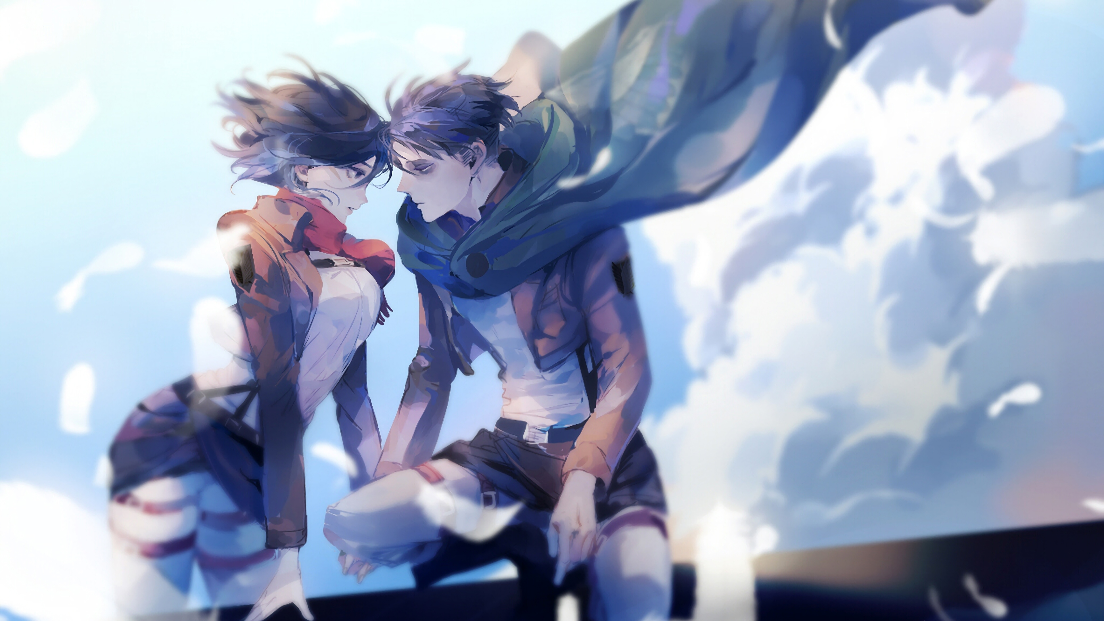 Mikasa And Levi Attack On Titan 4k Attack On Titan 4k 3840x2160 Wallpaper Teahub Io
