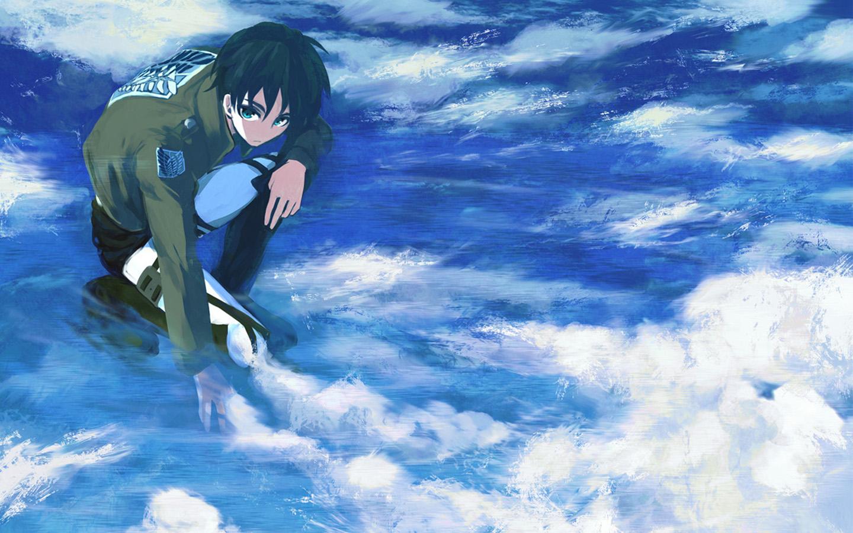 Attack On Titan Download Wallpaper Shingeki No Kyojin The Sea 1440x900 Wallpaper Teahub Io