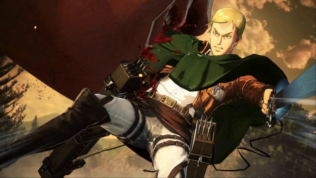 Attack On Titan 2 Review Attack On Titan Wings Of Freedom 2 1280x720 Wallpaper Teahub Io