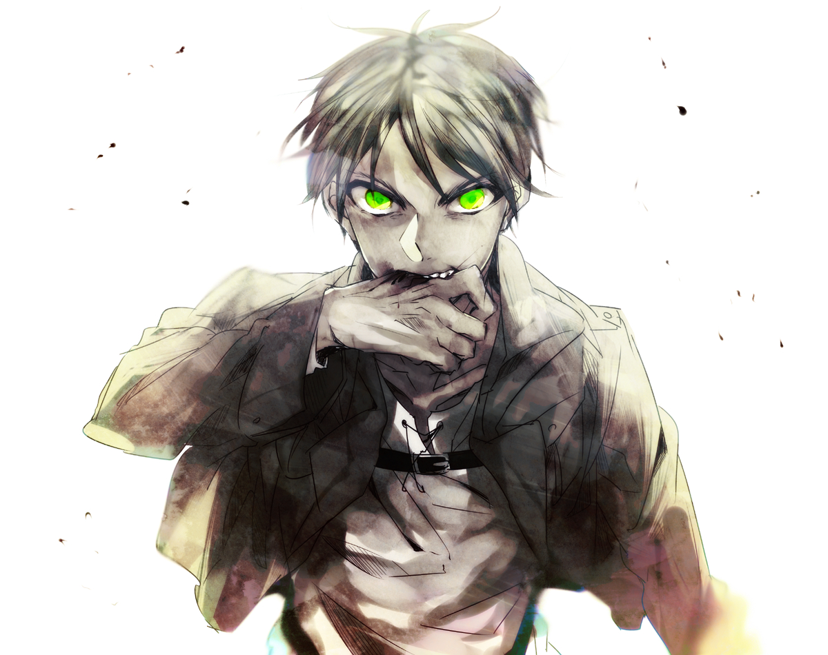 Shingeki No Kyojin Eren Jaeger 10 Free Hd Wallpaper Illustration 1200x950 Wallpaper Teahub Io