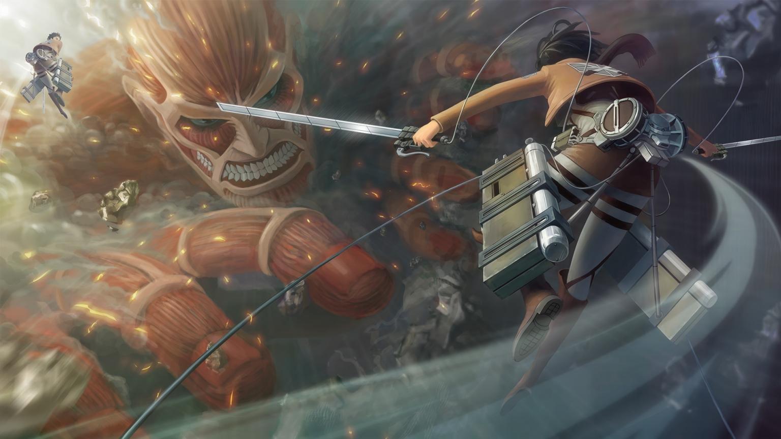 Free Mikasa Ackerman High Quality Background Id - 4k Attack On Titan - HD Wallpaper
