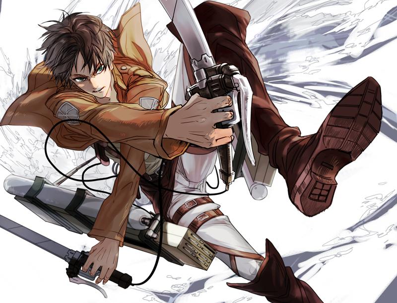 Eren Jaeger Awesome 800x611 Wallpaper Teahub Io