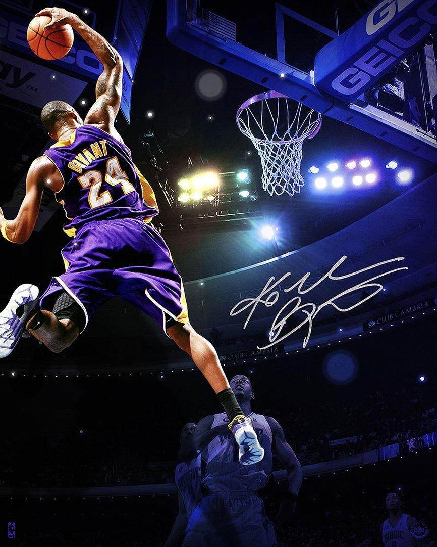 Kobe Bryant Customized Inch Silk Print Poster Wallpaper Kobe Bryant Wallpaper 4k 866x1082 Wallpaper Teahub Io
